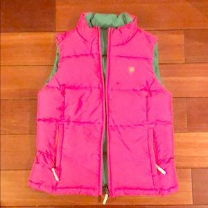 Lilly reversible vest